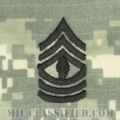 先任曹長(First Sergeant (1SG))[UCP(ACU)/階級章/キャップ用縫い付けパッチ]の画像