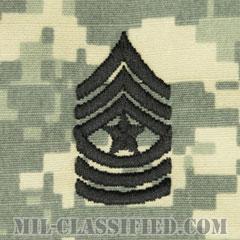 上級曹長(Sergeant Major (SGM))[UCP(ACU)/階級章/キャップ用縫い付けパッチ]の画像