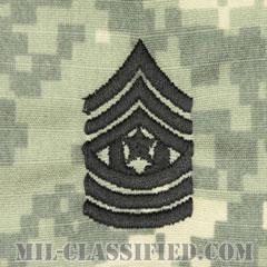 最上級曹長(Command Sergeant Major (CSM))[UCP(ACU)/階級章/キャップ用縫い付けパッチ]の画像