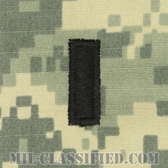 中尉(First Lieutenant (1LT))[UCP(ACU)/階級章/キャップ用縫い付けパッチ]の画像