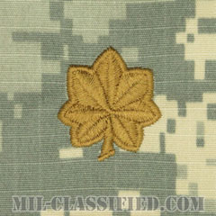 少佐(Major (MAJ))[UCP(ACU)/階級章/キャップ用縫い付けパッチ]の画像