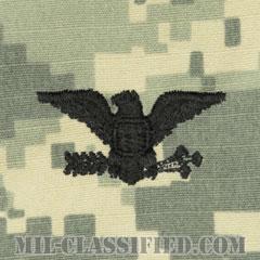 大佐(Colonel (COL))[UCP(ACU)/階級章/キャップ用縫い付けパッチ]の画像