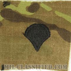 特技兵(Specialist (SPC))[OCP/階級章/キャップ用縫い付けパッチ]の画像