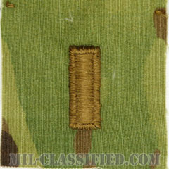 少尉(Second Lieutenant (2LT))[OCP/階級章/キャップ用縫い付けパッチ]の画像