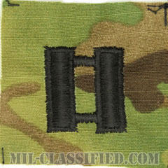 大尉(Captain (CPT))[OCP/階級章/キャップ用縫い付けパッチ]の画像