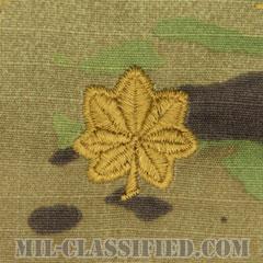 少佐(Major (MAJ))[OCP/階級章/キャップ用縫い付けパッチ]の画像