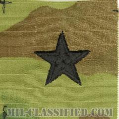准将(Brigadier General (BG))[OCP/階級章/キャップ用縫い付けパッチ]の画像