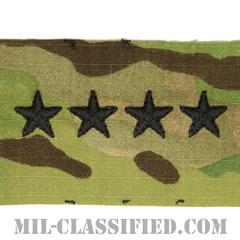 大将(General (GEN))[OCP/階級章/キャップ用縫い付けパッチ]の画像