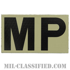 MP(憲兵)(Military Police)[IR(赤外線)反射素材/3.5インチ幅/ベルクロ付パッチ]の画像