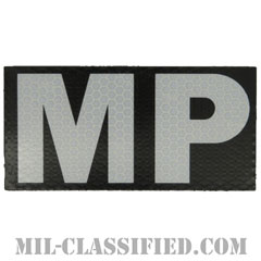 MP(憲兵)(Military Police)[IR(赤外線)反射素材/4インチ幅/ベルクロ付パッチ]の画像
