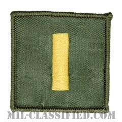 少尉(Ensign)[フライトスーツ用セージグリーン/海軍階級章/ペア(2枚1組)]の画像