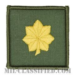 少佐(Lieutenant Commander)[フライトスーツ用セージグリーン/海軍階級章/ペア(2枚1組)]の画像