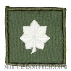 中佐(Commander)[フライトスーツ用セージグリーン/海軍階級章/ペア(2枚1組)]の画像