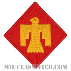 第45歩兵師団(45th Infantry Division)[カラー/メロウエッジ/パッチ]の画像