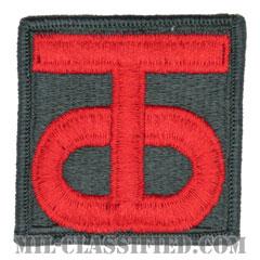 第90歩兵師団(90th Infantry Division)[カラー/メロウエッジ/パッチ]の画像