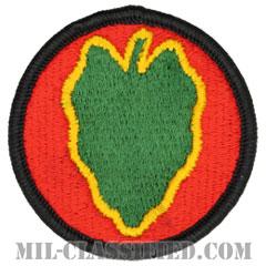 第24歩兵師団(24th Infantry Division)[カラー/メロウエッジ/パッチ]の画像