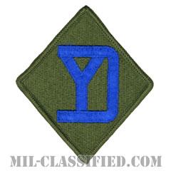 第26歩兵師団(26th Infantry Division)[カラー/メロウエッジ/パッチ]の画像