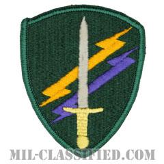 アメリカ陸軍民事活動および心理作戦司令部(USACAPOC)[カラー/メロウエッジ/パッチ]の画像