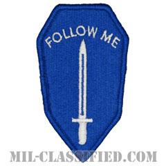 陸軍歩兵学校(Army Infantry School)[カラー/メロウエッジ/パッチ]画像