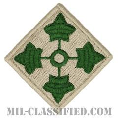 第4歩兵師団(4th Infantry Division)[カラー/メロウエッジ/パッチ]の画像