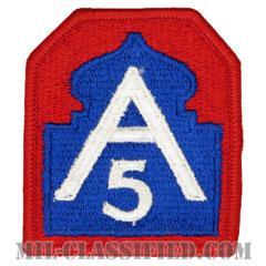第5軍(5th Army)[カラー/メロウエッジ/パッチ]の画像