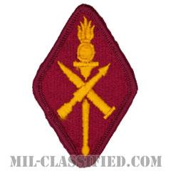 ミサイル弾薬学校(Missile and Munitions Center and School)[カラー/メロウエッジ/パッチ]の画像