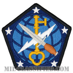 第704軍事情報旅団(704th Military Intelligence Brigade)[カラー/メロウエッジ/パッチ]の画像
