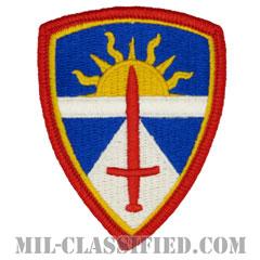 陸軍試験評価コマンド(Army Test and Evaluation Command (ATEC))[カラー/メロウエッジ/パッチ]の画像