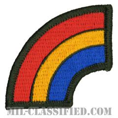 第42歩兵師団(42th Infantry Division)[カラー/メロウエッジ/パッチ]の画像