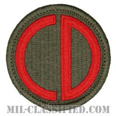 第85歩兵師団(85th Infantry Division)[カラー/メロウエッジ/パッチ]の画像