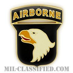 第101空挺師団(101st Airborne Division)[カラー/CSIB/ASU用バッジ]の画像