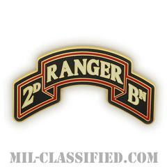 第75レンジャー連隊第2大隊(2nd Battalion, 75th Ranger Regiment)[カラー/CSIB/ASU用バッジ]の画像