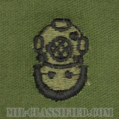 潜水員章 (2級)(Diver Badge, Second Class)[サブデュード/パッチ]の画像