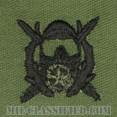 特殊作戦潜水責任者章(Diver Badge, Special Operations Diving Supervisor)[サブデュード/パッチ]の画像