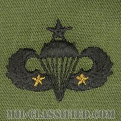 戦闘空挺章 (シニア) 降下2回(Combat Parachutist Badge, Senior, Two Jump)[サブデュード/パッチ]の画像