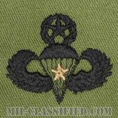 戦闘空挺章 (マスター) 降下1回(Combat Parachutist Badge, Master, One Jump)[サブデュード/パッチ]の画像
