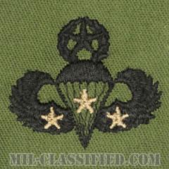 戦闘空挺章 (マスター) 降下3回(Combat Parachutist Badge, Master, Three Jump)[サブデュード/パッチ]の画像
