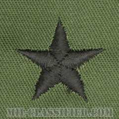 准将(Brigadier General (BG))[サブデュード/階級章/パッチ/ペア(2枚1組)]の画像