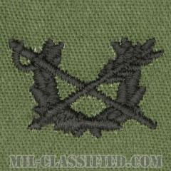 査察科章(Judge Advocate General's Corps)[サブデュード/兵科章/パッチ/ペア(2枚1組)]の画像