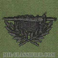 専門幕僚科章(Staff Specialist Corps)[サブデュード/兵科章/パッチ/ペア(2枚1組)]の画像