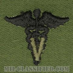 獣医科章(Veterinary Corps)[サブデュード/兵科章/パッチ/ペア(2枚1組)]の画像