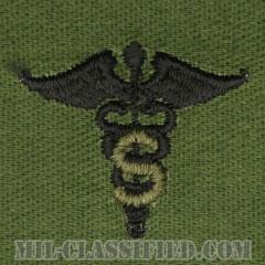 専門医科章(Medical Specialist Corps)[サブデュード/兵科章/パッチ/ペア(2枚1組)]の画像