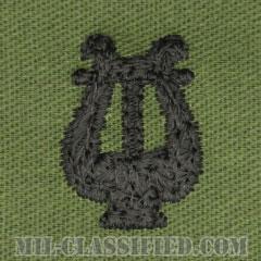 楽隊科章(Army Bands)[サブデュード/兵科章/パッチ/ペア(2枚1組)]の画像
