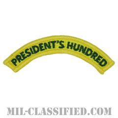 プレジデンツ ハンドレット タブ(President's Hundred Tab)[カラー/メロウエッジ/パッチ]の画像