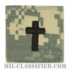 キリスト教従軍牧師科章(Chaplain Corps, Christian Faith)[UCP(ACU)/ベルクロ付パッチ]の画像