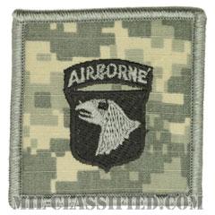 第101空挺師団(101st Airborne Division (Air Assault))[UCP(ACU)/ヘルメット用/パッチ]の画像
