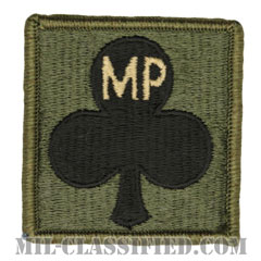 327歩兵連隊憲兵中隊(Military Police Company,  327th Infantry Regiment)[サブデュード/ヘルメット用/パッチ]の画像