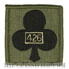 第1旅団戦闘団第426支援大隊(426th Support Battalion, 1st Brigade Combat Team)[サブデュード/ヘルメット用/パッチ]の画像