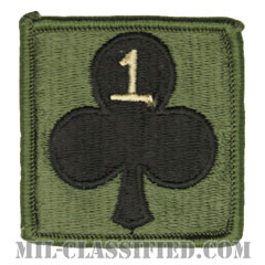 327歩兵連隊第1旅団戦闘団第1大隊(1st Battalion, 1st BCT, 327th Infantry Regiment)[サブデュード/ヘルメット用/パッチ]の画像