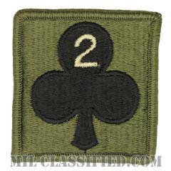 327歩兵連隊第1旅団戦闘団第2大隊(2nd Battalion, 1st BCT, 327th Infantry Regiment)[サブデュード/ヘルメット用/パッチ]の画像